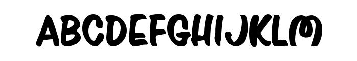 Press Darling Bold Font UPPERCASE