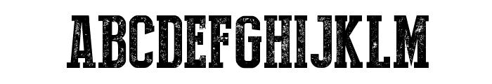 Press Style Serif Font UPPERCASE