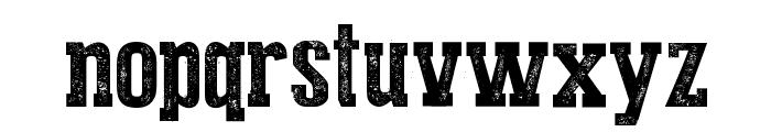 Press Style Serif Font LOWERCASE