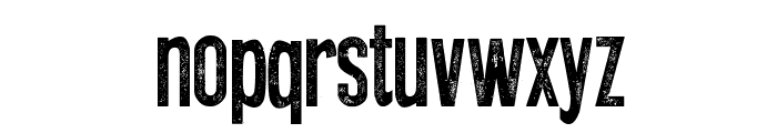Press Style Font LOWERCASE