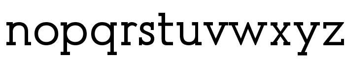 Presse [Unregistered] Font LOWERCASE