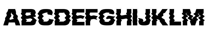 Presshure ExtraBold Font LOWERCASE