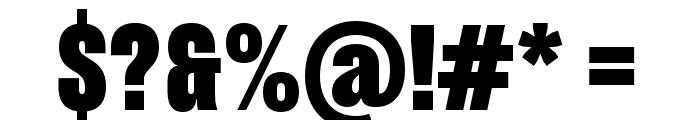 Pressuru Font OTHER CHARS
