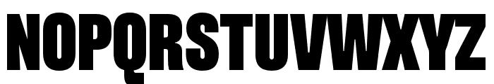 Pressuru Font UPPERCASE