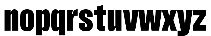 Pressuru Font LOWERCASE