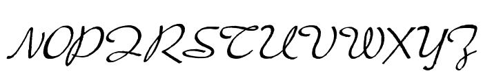 PresterJohn Font UPPERCASE