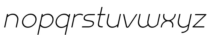 Prestij Demo Light Italic Font LOWERCASE