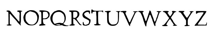 Prestinia PRO Font UPPERCASE