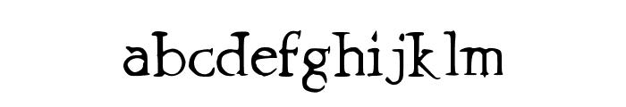 Prestinia PRO Font LOWERCASE