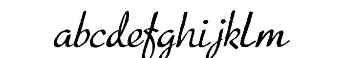 Presto Font LOWERCASE