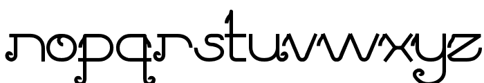 Pretty Clever Font LOWERCASE