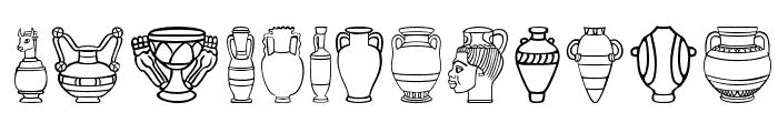 Pretty-Pottery Font LOWERCASE