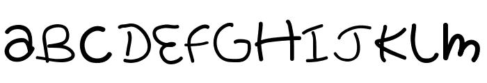 Pretty tOmAtO Font UPPERCASE
