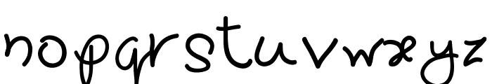 Pretty tOmAtO Font LOWERCASE