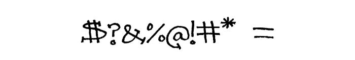 PrettyCityKitties Font OTHER CHARS