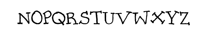 PrettyCityKitties Font UPPERCASE
