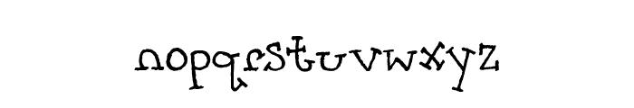 PrettyCityKitties Font LOWERCASE