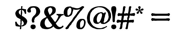 Pretzel Regular Font OTHER CHARS