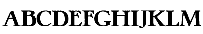 Pretzel Regular Font UPPERCASE