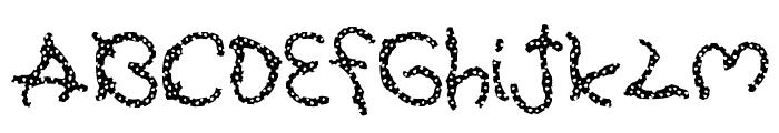 Pretzel Font UPPERCASE