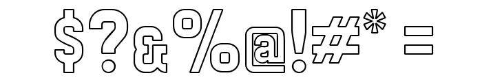 Preussische VI 9 Linie Font OTHER CHARS
