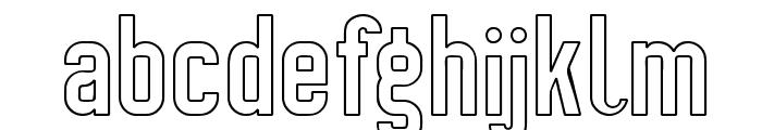 Preussische VI 9 Linie Font LOWERCASE
