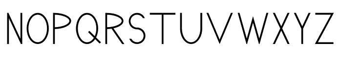 Pricisia Bold Font UPPERCASE