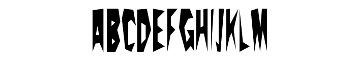 PricklyPear Font UPPERCASE