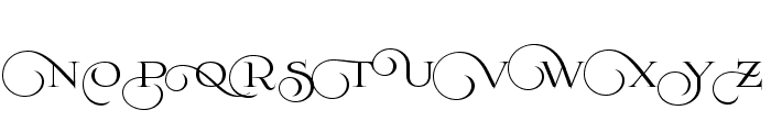 Prida02Calt Font UPPERCASE