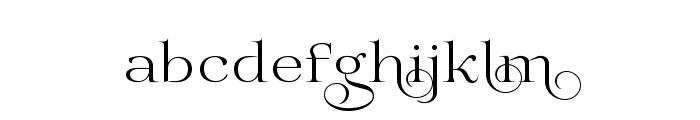 Prida02Calt Font LOWERCASE