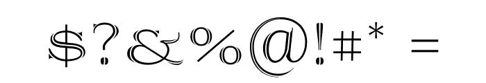 Prida36 Font OTHER CHARS