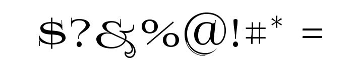 Prida61 Font OTHER CHARS