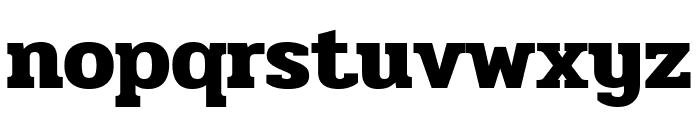 Pridi Bold Font LOWERCASE