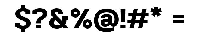 Pridi SemiBold Font OTHER CHARS