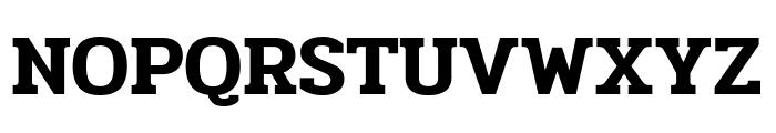 Pridi SemiBold Font UPPERCASE