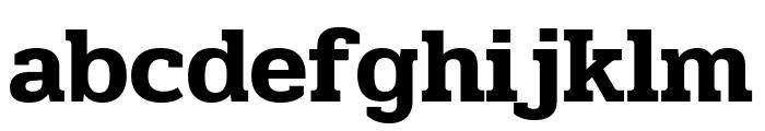 Pridi SemiBold Font LOWERCASE
