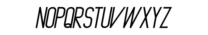 Primadona Italic Bold Font UPPERCASE