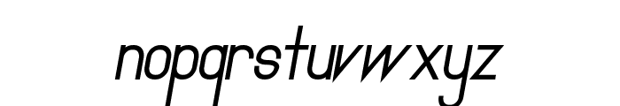 Primadona Italic Bold Font LOWERCASE