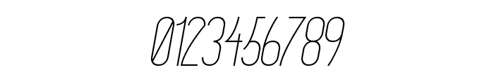 Primadona Italic Font OTHER CHARS