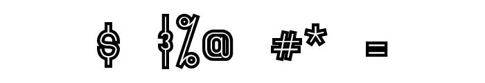 Primadona Vintage Font OTHER CHARS