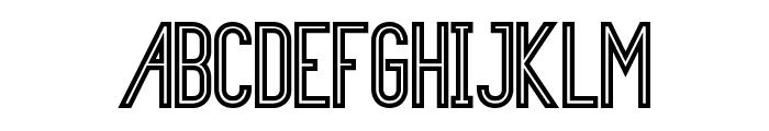 Primadona Vintage Font UPPERCASE