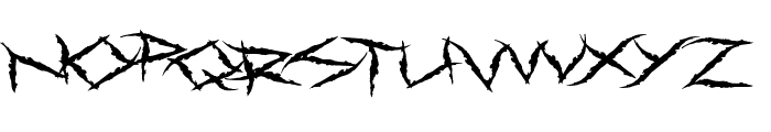 Primal Dream Font LOWERCASE