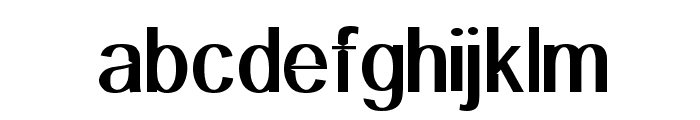 Primary Elector Font LOWERCASE