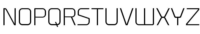 Prime-Light Font UPPERCASE