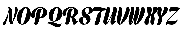 Prime Script PERSONAL USE ONLY Font UPPERCASE