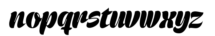 Prime Script PERSONAL USE ONLY Font LOWERCASE