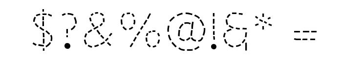 Primer Apples Font OTHER CHARS
