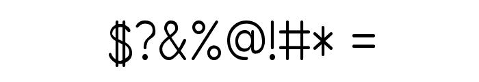 Primer Print Font OTHER CHARS