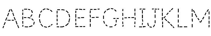 PrimerApples-Regular Font UPPERCASE