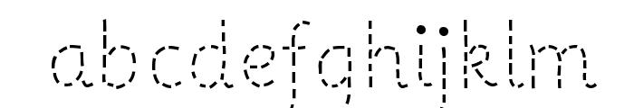 PrimerApples-Regular Font LOWERCASE